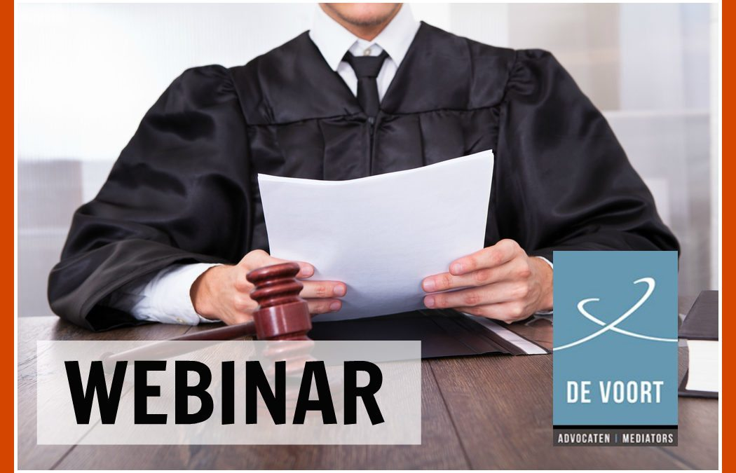Slides en opname webinar 'Is de organisatie AVG-proof?'